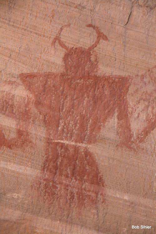 Pictograph in Calf Creek Canyon