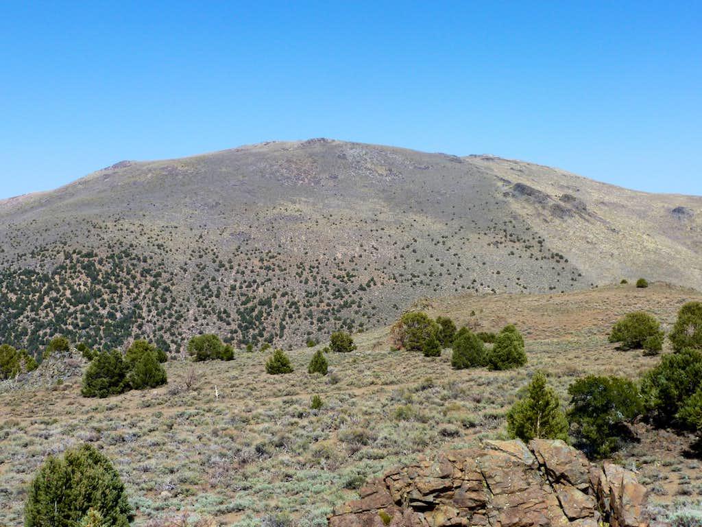 Bald Mountain massif from Peak 8130