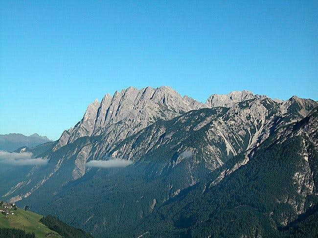 The Spitzkofel Group in the...