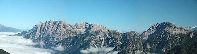 Eastern part of the Lienz...