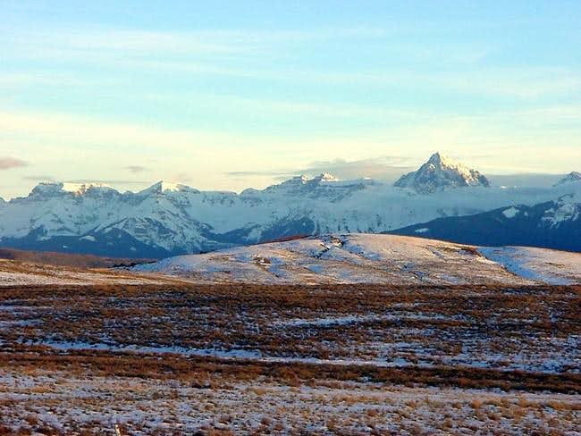 Mt. Sneffels from west of...