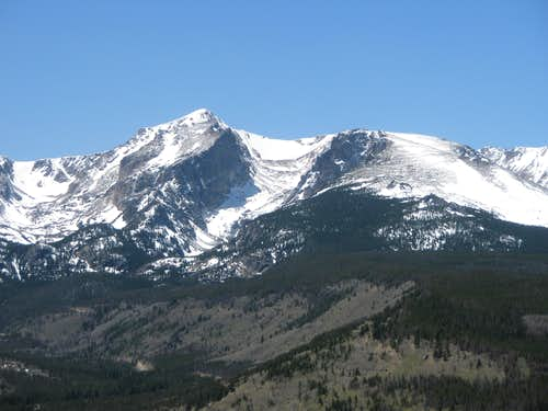 Hallett Peak and Flattop Mountain
