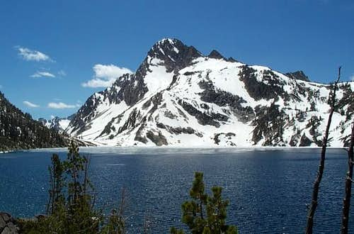 This is Sawtooth Lake, the...