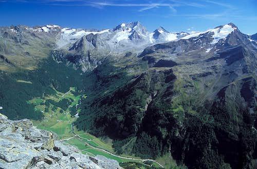 the summit of Grosser...
