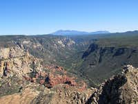 Oak Creek Canyon & Humphreys Peak