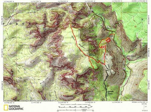 Wilson Mountain North Trail