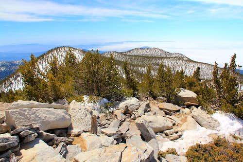 Jean Peak and Marion Mountain.