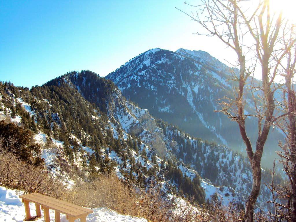 Allen Peak from Overlook