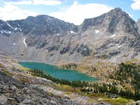 Mystic Island Lake and Fools Peak