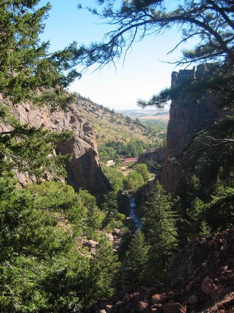 Eldorado Canyon is one of the...