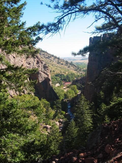 Eldorado Canyon is one of the...