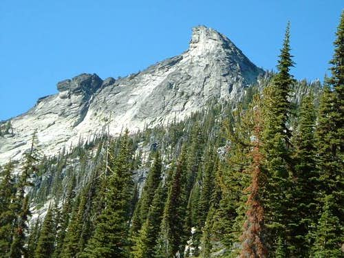 Harrison Peak viewed on the...