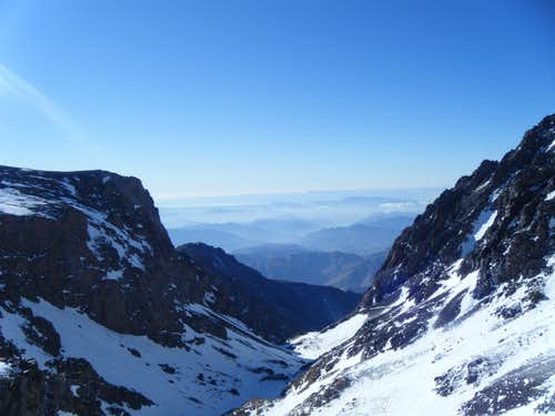 The view from 3,700m