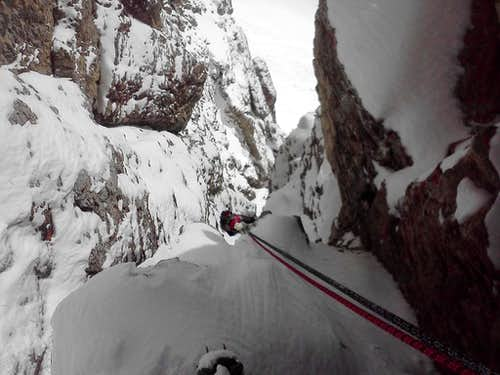 White Line Couloir