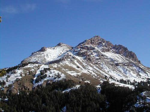 Sphinx Mountain. November 14,...
