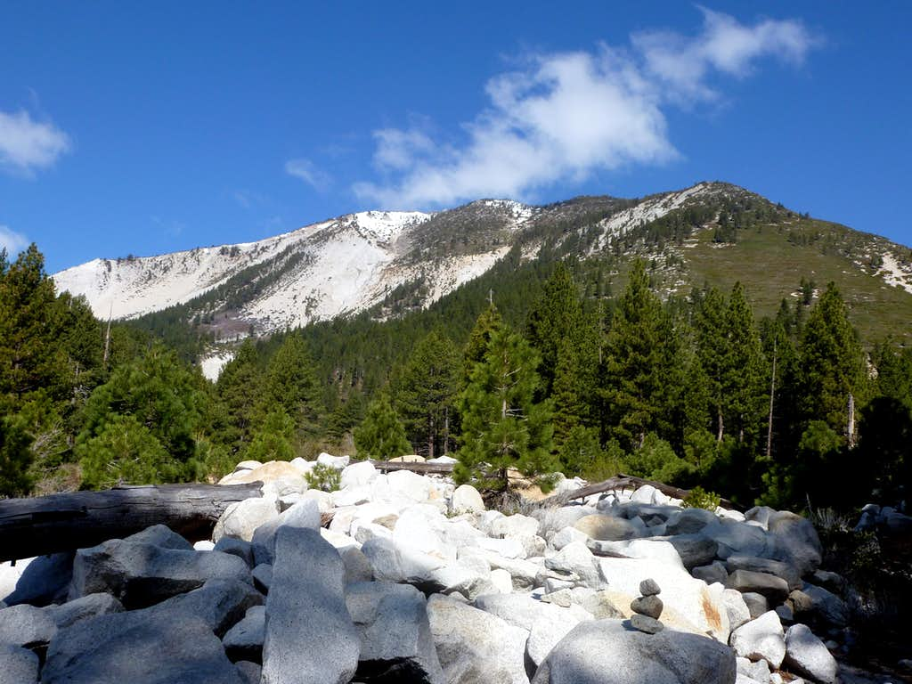 Slide Mountain southeast side