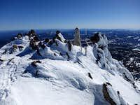 Lassen summit