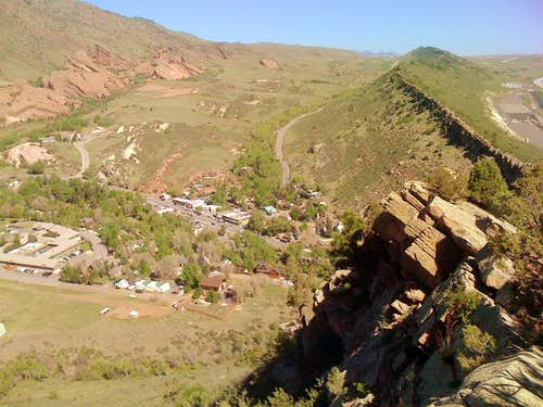Red Rocks and Dinosaur Ridge