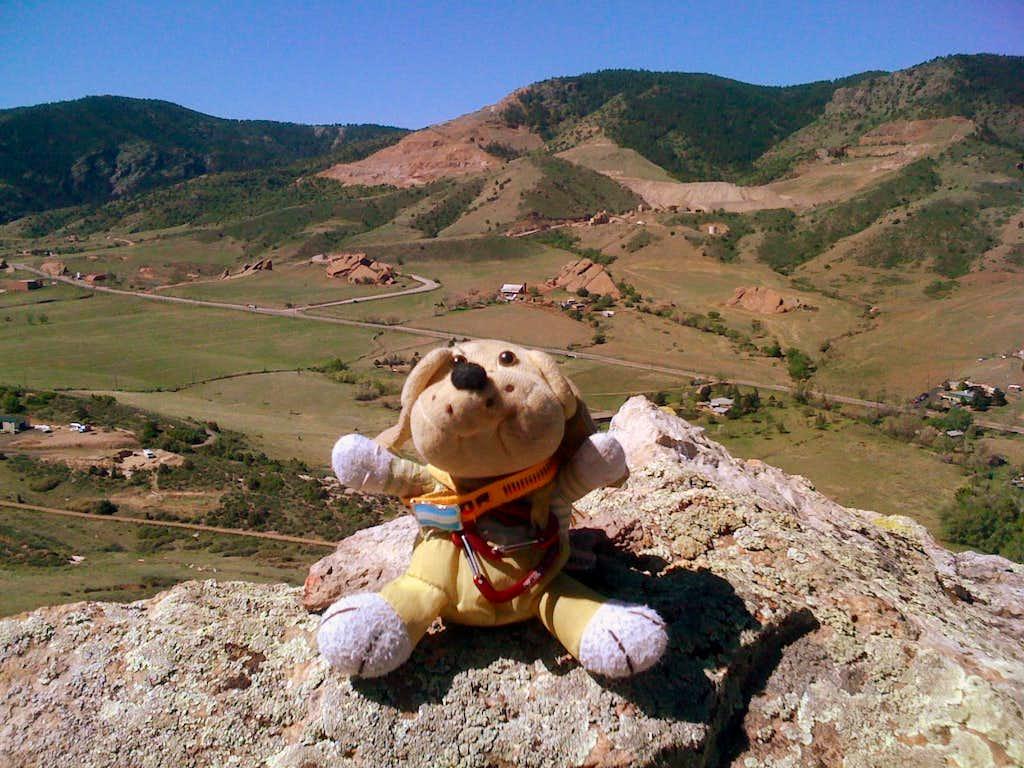 Mount Glennon summit.