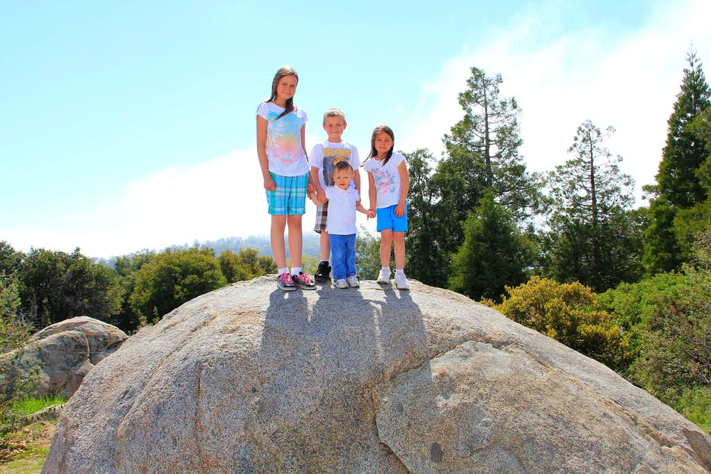 Big boulder.