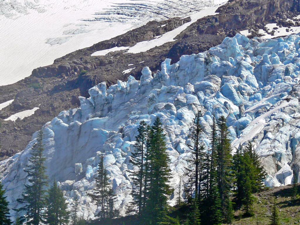 Coleman Glacier Ice Fall