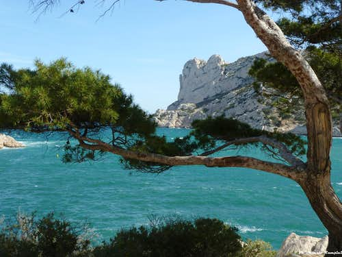 Bec de Sormiou magic NE face, Calanques