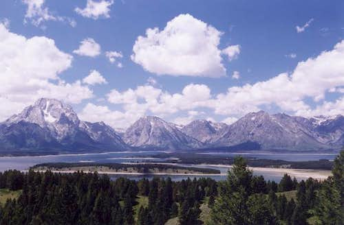 The Mount Moran group and...