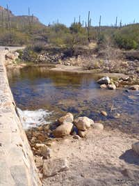 Crossing Sabino Creek