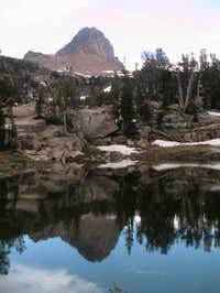 Buck Mountain reflected in...