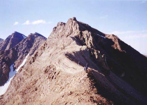 Haft-Khaan ridge . This photo...