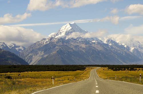Aoraki / Mount Cook, Mount Cook National Park, New Zealand
