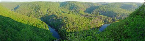 Over the gorges of the Dyje (Thaya)