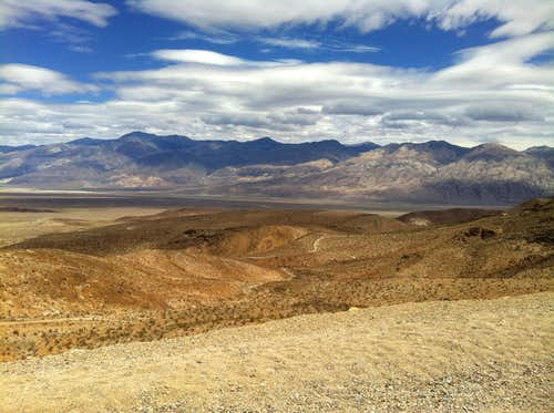 Panamint Mountain Range
