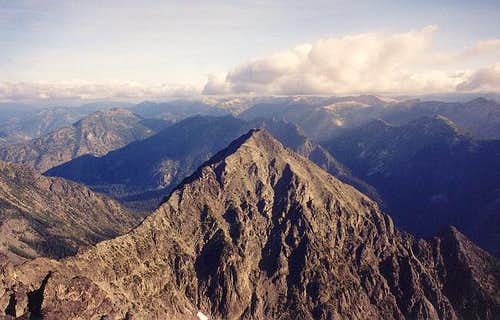 North Craggy (8,205 ft) from...