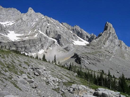 Elpoca Mtn. and 'Elpoca Tower' Col