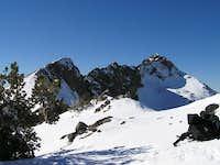 East ridge of Round Top taken...