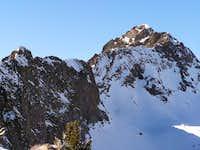 Upper section of East Ridge...