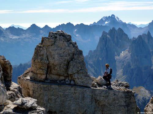 Cima Ovest di Lavaredo summit ridge