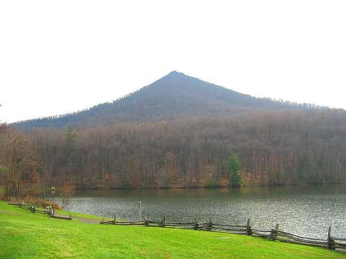 Sharp Top Mountain as seen...