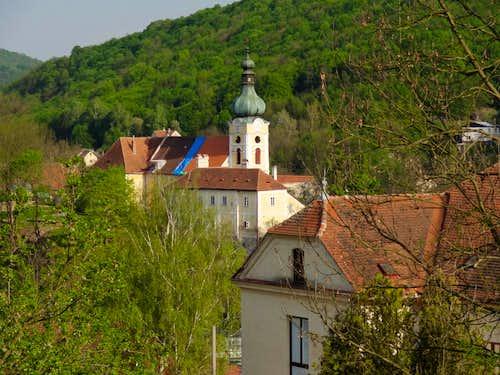 Vranov in the Dyje valley