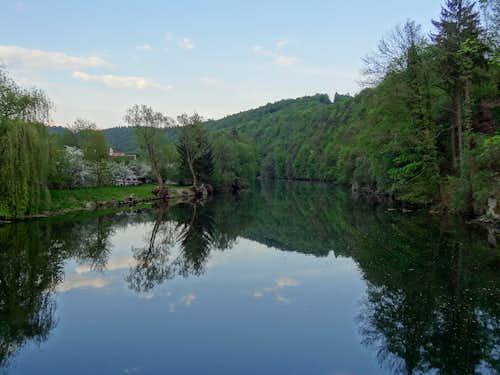 Dyje valley in Vranov