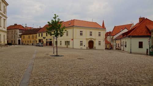 Znojmo streets