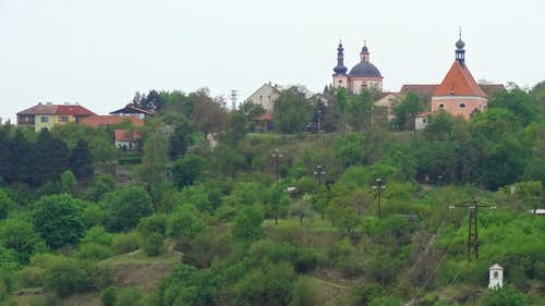 Dyje valley from Znojmo