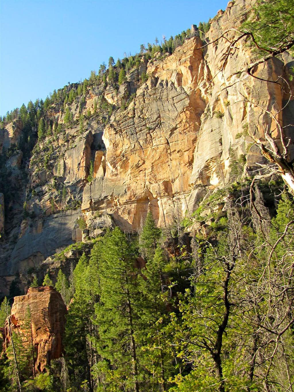 Walls of Wilson Mountain