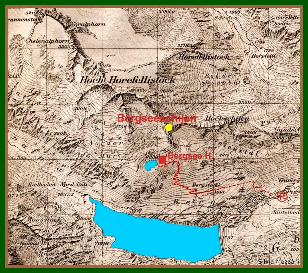 Bergseeschijen map