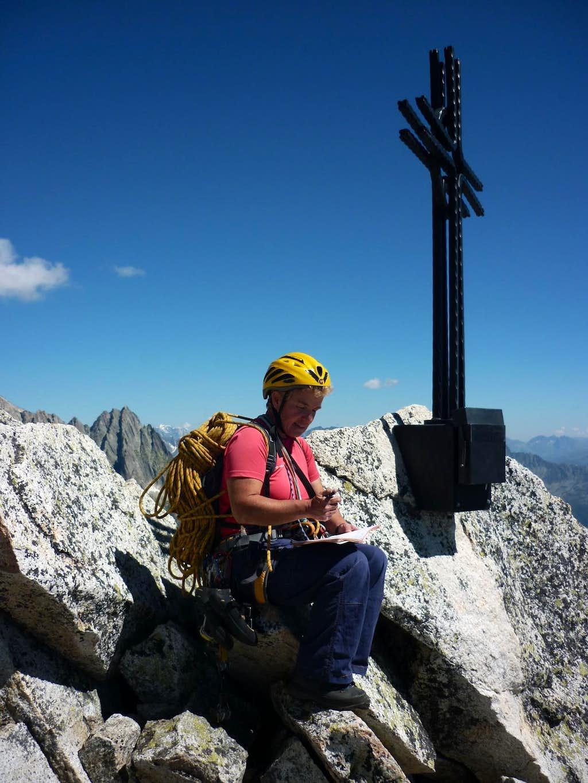 Bergseeschijen summit cross and summit-box