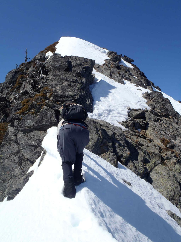 Jim Hill Summit Ridge