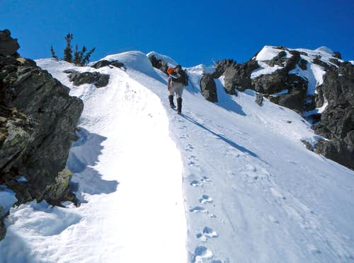 The Summit Ridge Above