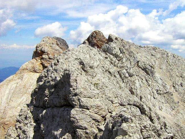 On the ridge of Kocna. Very...