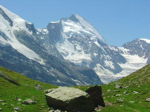 Dent d'Herens seen from...